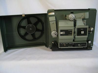Vintage Sears DU-All Super 8 & 8mm Movie Projector Model 584.92560