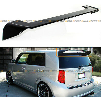 Glossy Painted Blk Oe Style Rear Roof Top Spoiler Wing For 2008-2015 Scion Xb Bb