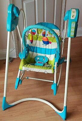 Fisher Price smart stages 3 in 1 Swing and rocker musical