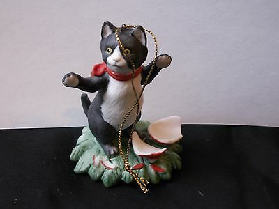 Vintage Catnippers Collection Irene Spencer Faux Paw  Signed Siamese