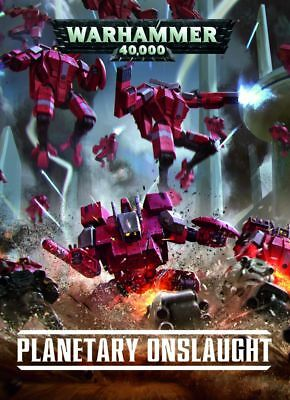 Planetary Onslaught Codex (Deutsch) - Softcover Games Workshop Warhammer 40.000