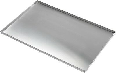 Commercial Aluminium 4 Sided Solid Baking Sheet 600 x 400 x 20 mm