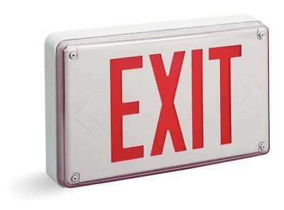 LITHONIA LIGHTING LV S W 1 R 120/277 ACUITY LITHONIA Cast Aluminum LED Exit Sign