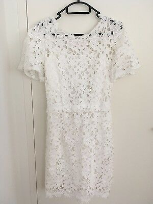 Women's summer embroidered shift dress size M