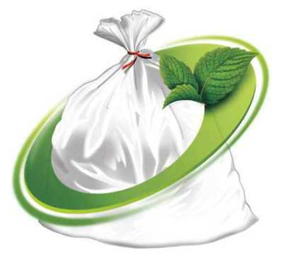 Mint-X Trash Bag, 56 gal., LLDPE, Clear, PK100, MX4347XHC