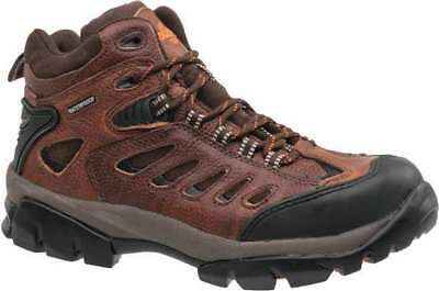 Size 13 Hiking Boots, Men's, Brown, Steel Toe, M, Nautilus Safety Footwear