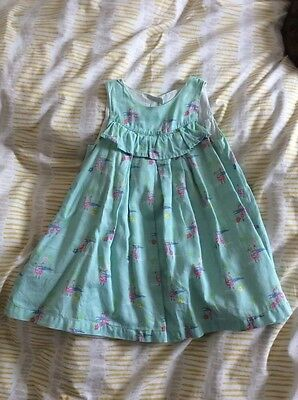 mothercare girls summer dress 12-18 months