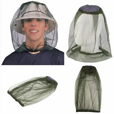 Camping Anti-Mosquito Bee Bug Insect Fishing Mask Face Protect Head Net CHIP227