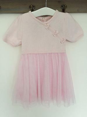 R.W. Emile Et Rose Baby Girls Pink Dress Age 12 Months