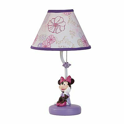 Disney Minnie Mouse  Butterfly Dreams Lamp and Shade