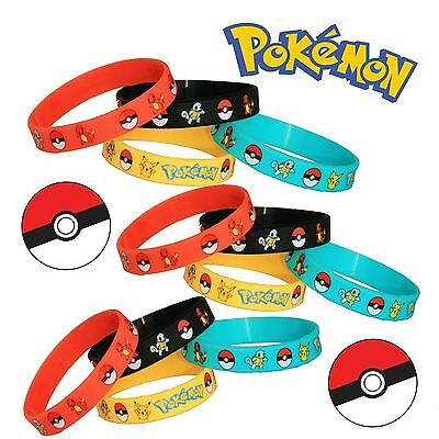 New  Pokemon Pikachu Wristband Silicone Promotion Filled Bracelet gifts