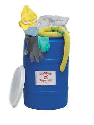 9MF15 Spill Kit, 25 gal., Universal, Drum