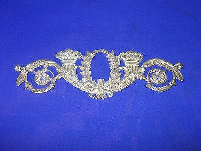 1 piece vintage bronze furniture ormolu