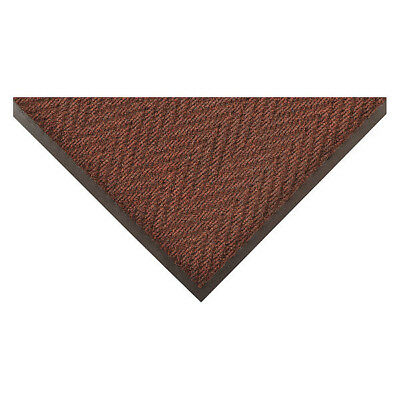Carpeted Entrance Mat,Brown,4ft. x 6ft. NOTRAX 118S0046BR