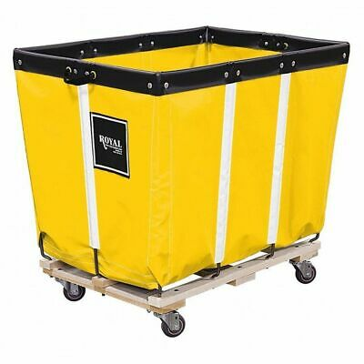 ROYAL G16-YYW-PMA-3UNN Basket Truck, 16 Bu. Cap., Yellow, 40 In. L
