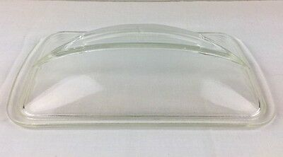 """MINT Vintage Westinghouse Glass Refrigerator Dish Replacement Domed Lid  5"""" x 9"""""""