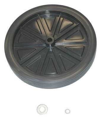 RUBBERMAID GRFG9W71L2BLA Wheel Kit,12 In Dia