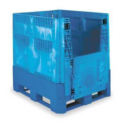 Collapsible Bulk Container, Blue ,Buckhorn, BG4840460263000