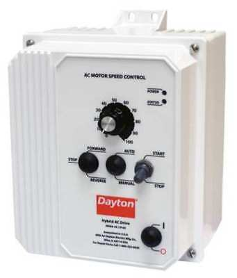 Variable Frequency Drive,5 HP,480VAC DAYTON 13E643