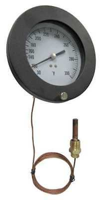 12U649 Analog Panel Mt Thermometer, 0 to 100F