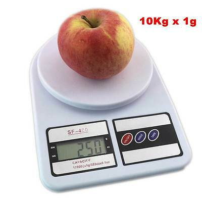 10KG Digital LCD Weighing Postal Electronic Kitchen Household Scale Balance