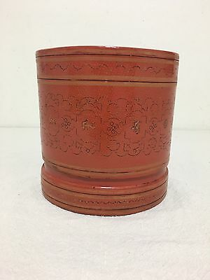 Indonesian Lacquer Container