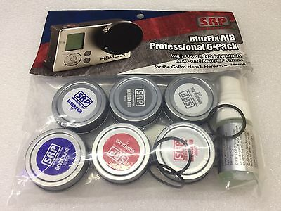 SRP BlurFix AIR Professional 6 filter For GoPro Hero 3 3+ 4 Phantom 2 Solo 3DR