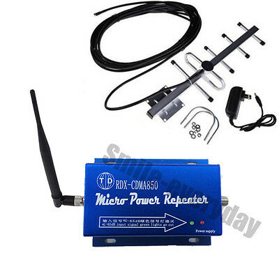 New  2017  Cell  Booster   3G CDMA 850MHz  Reater  Repeater  Amplifier+Yagi Hot