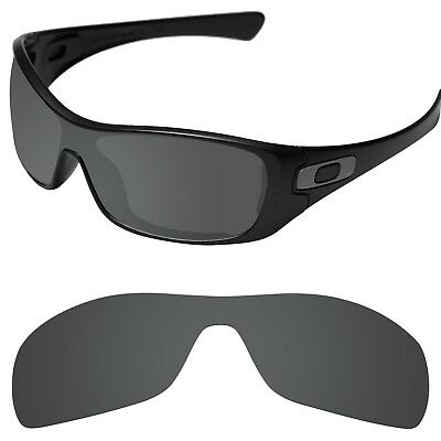 Tintart Polarized Replacement Lenses for-Oakley Antix Carbon Black (STD)