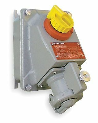 3W 4P 60A Hazardous Pin & Sleeve Receptacle 600VAC HUBBELL KILLARK VSQ6034