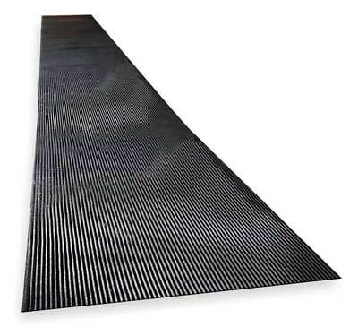 NOTRAX 830C0036-75 Switchboard Mat, Black, Corrugated, 3x75 Ft