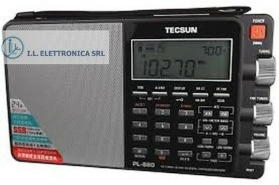 TECSUN PL-880 double conversion AM FM radio for waves short portable SSB 330003