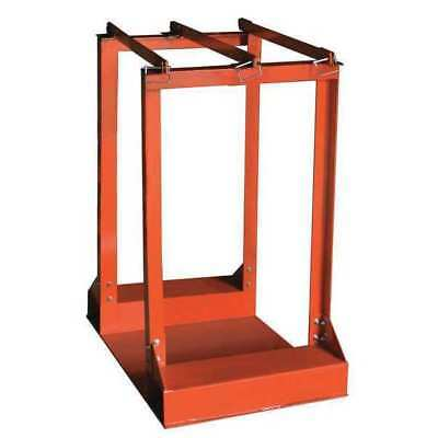 Gas Cylinder Rack,Capacity 4 Cylinders ZORO SELECT 39J512