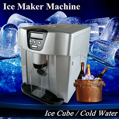 Portable Ice Cube Maker/Cold Water Countertop Compact Ice Cube Machine Brand New