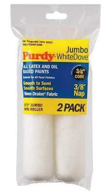 PURDY 140626012 Mini Paint Roller Cover,6-1/2 In,PK2