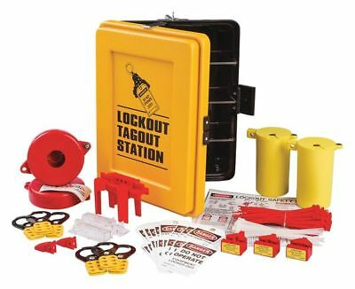 Safety Lockout/Tagout Station,17-1/8In H BRADY LC139E