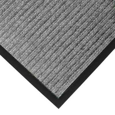 Carpeted Entrance Mat,Gray,4ft. x 6ft. NOTRAX 117S0046GY