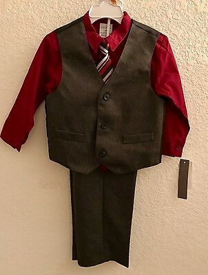 Boys 4 piece vest and tie  for Easter size 3t
