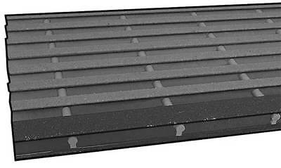 SAFE-T-SPAN 873330 Stair Tread,ISOFR,1 1/2 x 10 1/2 In,2 Ft