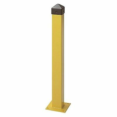 "1753 Bollard, Concrete, 5"", 36 In. H, Yellow"