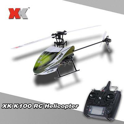 Original XK Falcon K100 6CH 3D 6G System RTF RC Helicopter HOT T2X2
