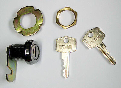MGB, MGBGT / MGB GT Glove Box Lock & Key Assembly, MG part AHH6331