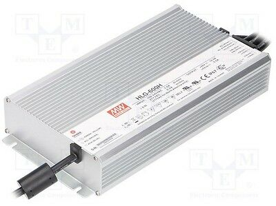 MeanWell HLG-600H-36B LED Power Supply 600W 36VDC 7.0A