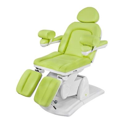 Pedicure Chair Beauty Massage Therapy Green Spa Bed Treatment Electric Table