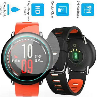 Premium 9H Tempered Glass Screen Protector for Xiaomi Huami Amazfit Sports Watch