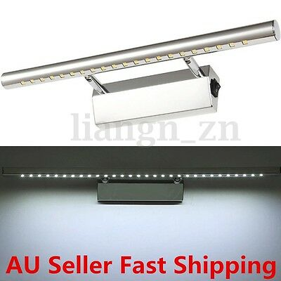 5W Stainless Steel LED Bathroom Make-up Mirror Front Picture Wall Light Bar Lamp