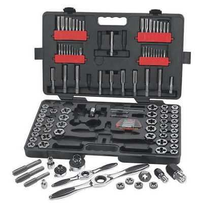 GEARWRENCH 82812 Tap and Die Set, 114 pc, Carbon Steel