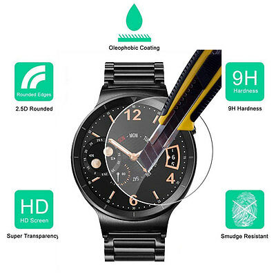 Premium Tempered Glass Screen Protector Film for Huawei Watch SmartWatch 2015