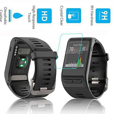 Premium 9H Tempered Glass Screen Protector Guard for for Garmin Vivoactive HR
