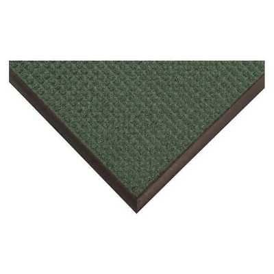 Carpeted Entrance Mat,Green,3ft. x 4ft. CONDOR 36VK14